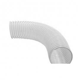 Гофро-труба отводящая D=100mm (белый )