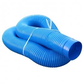 Гофро-труба отводящая D=100mm (синий )