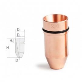 Сопло Laser Mech Ø10.6 мм однослойное